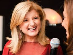 Arianna Huffington, successful entrepreneur, mother, author and leader.